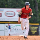 Midland Mich., Post 165 faces off against Henderson, Nev., Post 40 during game 10 of The American Legion World Series on Sunday, August 13, 2017 in Shelby, N.C.. Photo by Matt Roth/The American Legion.