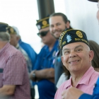 Members of The American Legion National Security Commission tour the facilities at Naval Air Station Fallon in Fallon, Nev. Photo by David Calvert/The American Legion