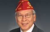 American Legion National Commander Fang A. Wong