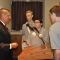 American Legion Executive Peter Gaytan speaks with senators
