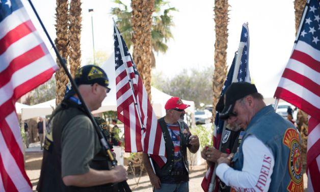 Las Vegas Veterans Memorial dedication