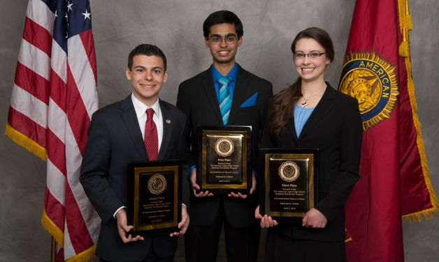 Missouri youth wins 77th Oratorical Contest