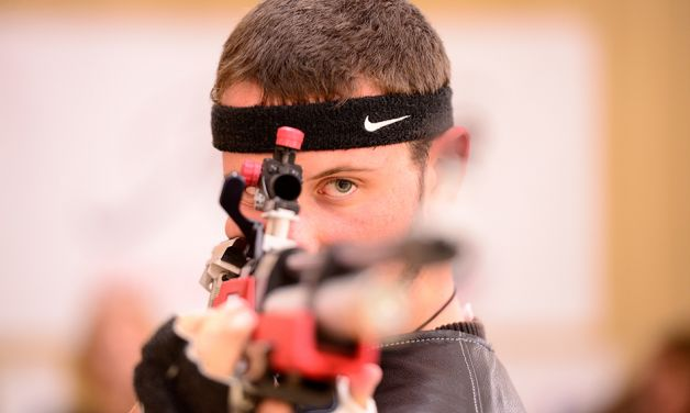 View round one results for Legion air rifle competition