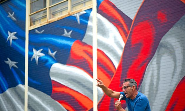 Artist completes flag mural tour