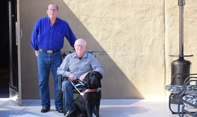 Giving a blind veteran hope, shelter