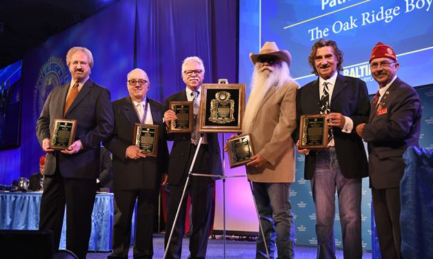 Oak Ridge Boys receive Patriot Award