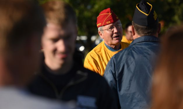Walk for Veterans in Lawrence, Ind.