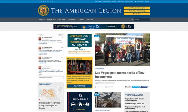 Redesigned Legion website draws record audience