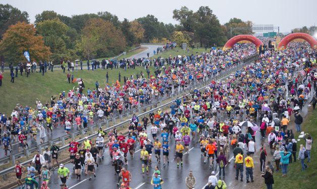 The 40th Annual Marine Corps Marathon