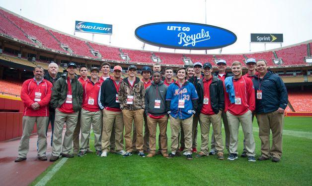 ALWS champs visit Kansas City for MLB World Series