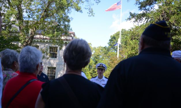 National Security Commission visits Naval Academy