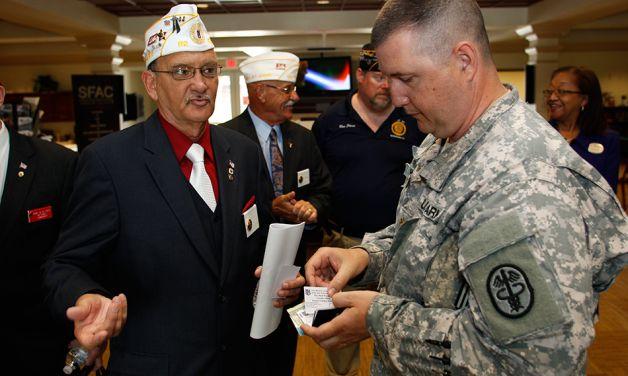 Promote Legion programs, benefits on military installations