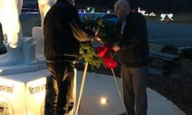 Veterans come out to do candlelight vigil for homeless veterans on longest night of the year