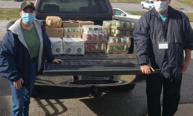 Dover (Tenn.) Post 72 partners with local grocer and auto dealer to assist local food pantry