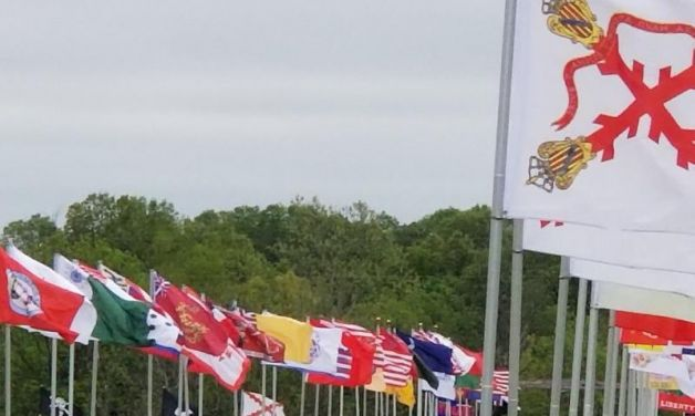 World's largest display of American Revolutionary War-era flags