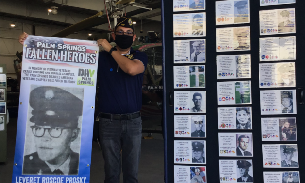 Palm Springs Post 519 honors fallen heroes