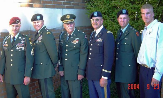 Humble offspring, Military family since 1750 in the USA