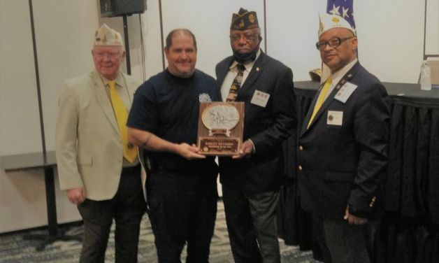 Navarre named 2021 Department of Louisiana Firefighter of the Year