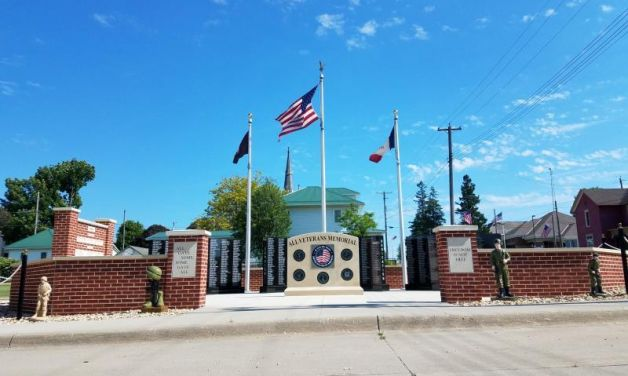 All Veterans Memorial, New Vienna, Iowa