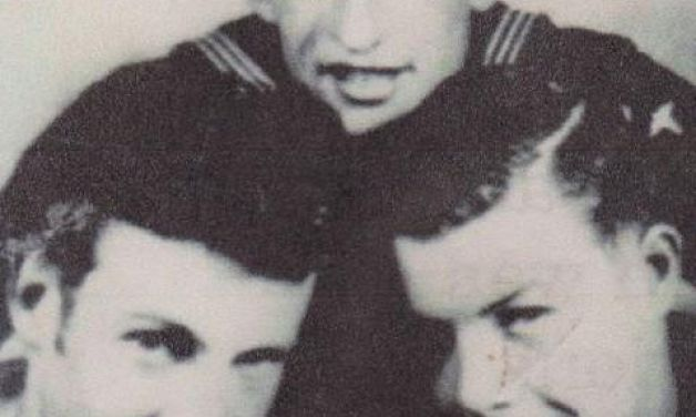 Cold War years: four brothers serve together in U.S. Navy