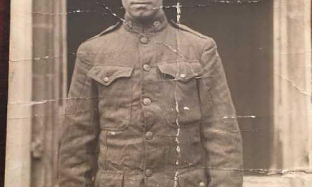My great-grandfather, a World War I hero