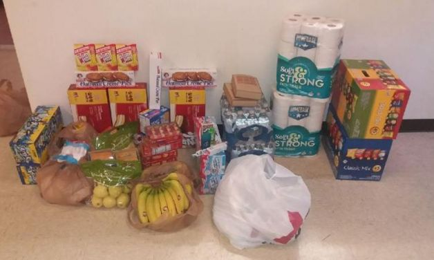 Post 38, South Korea, provides care goods to servicemembers being quarantined