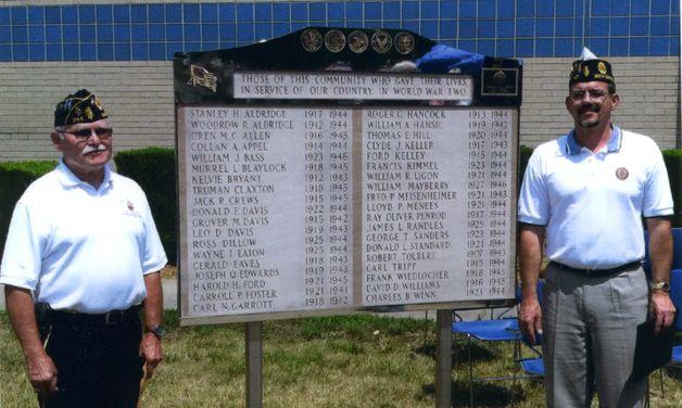 Post 344 uncovers forgotten World War II memorial