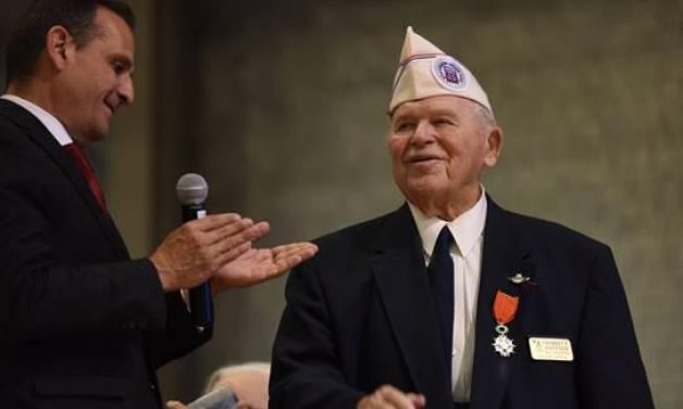 French Legion of Honor presented to Michigan five
