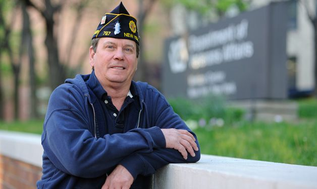 Legion's VA Volunteer of the Year: 'This is better than work'
