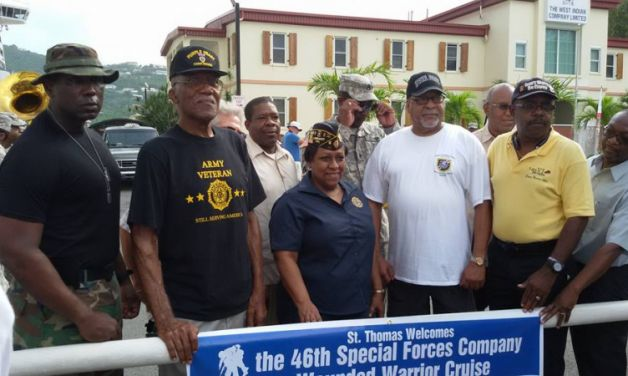 Virgin Islands Post 90 conducts welcome event