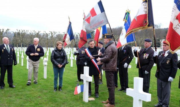 70 years later, World War II Purple Heart returns to France