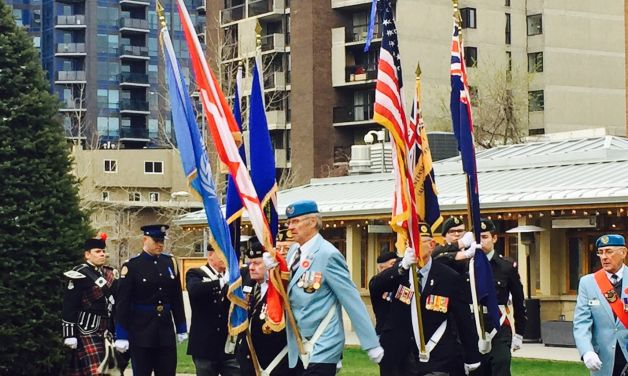 Legion posts celebrate ANZAC Day