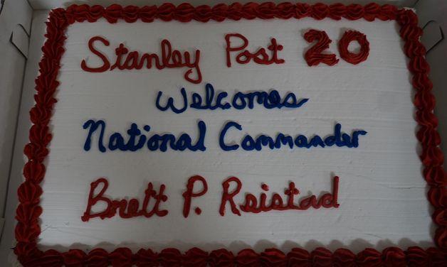 National Commander Brett P Reistad Visits The Department Of South Dakota