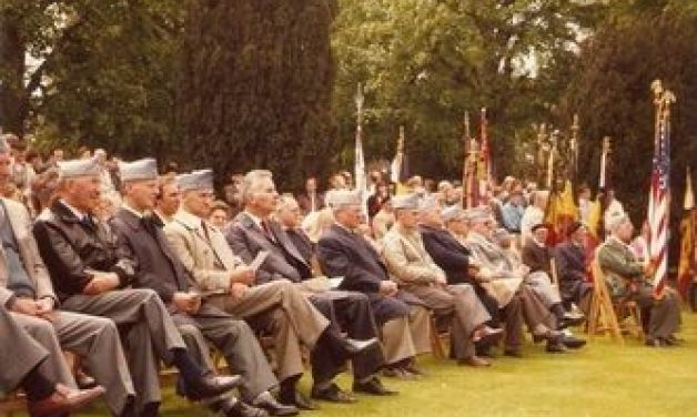 Flanders Field Post BE02 Sons at the Flanders Field American Cemetery in May 1983