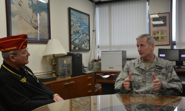 National Commander Barnett visits South Korea