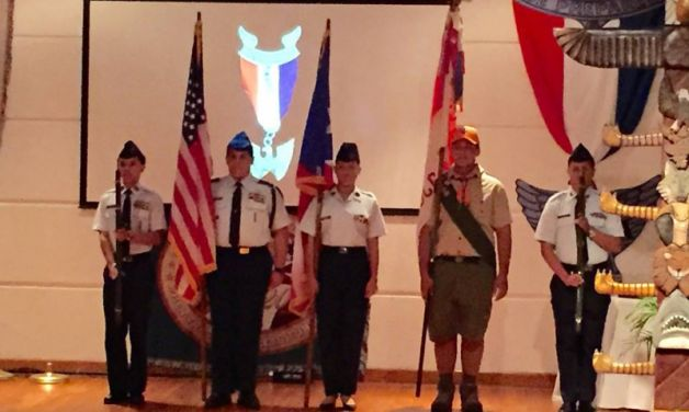 Department of Puerto Rico Eagle Scout Ceremony