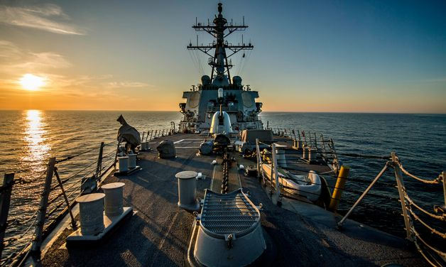 U.S. Navy: Drifting Toward Danger