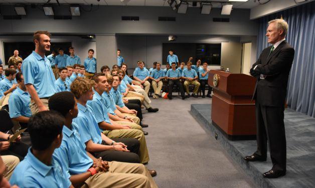 Pentagon trip inspires, unites Boys Nation