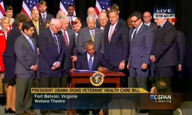 President signs VA reform bill