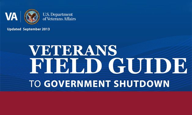 VA releases shutdown field guide to service