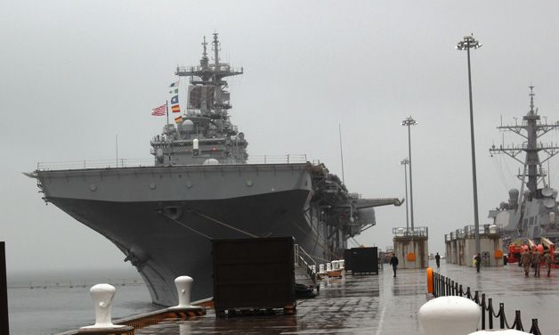 72 hours aboard the USS Wasp