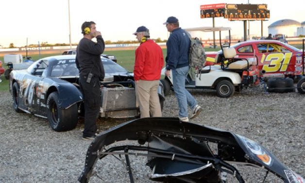 Late-lap crash sidelines 76 Freedom Car