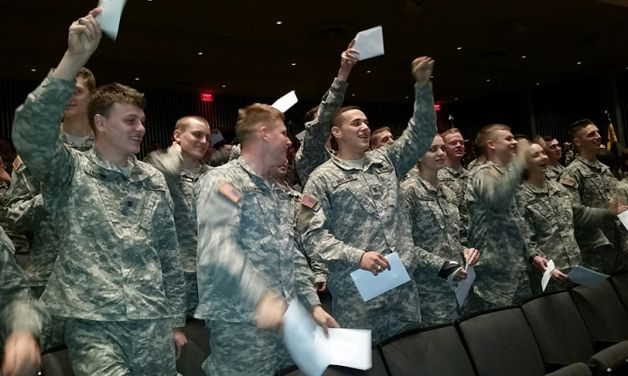 West Point seniors receive branch assignments