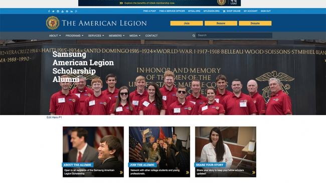 Join the Samsung American Legion Alumni Association