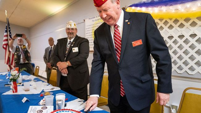 Reistad salutes 'heart and soul of The American Legion'