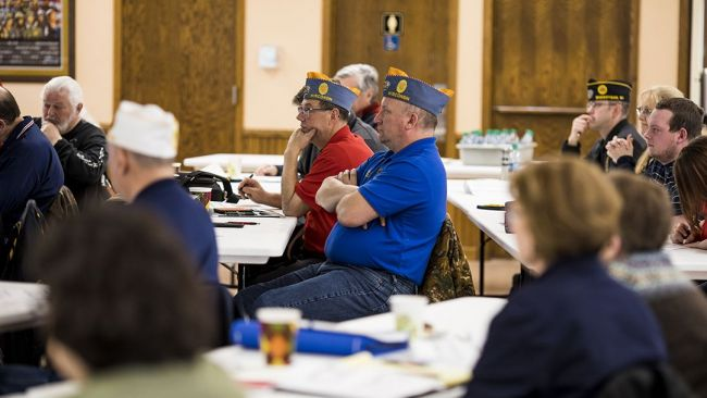 Wisconsin Legion College focuses on family