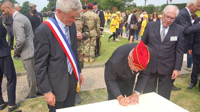 Agreement protects memorial site in Normandy