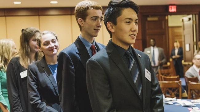 Scholars share gratitude to the Legion, Samsung