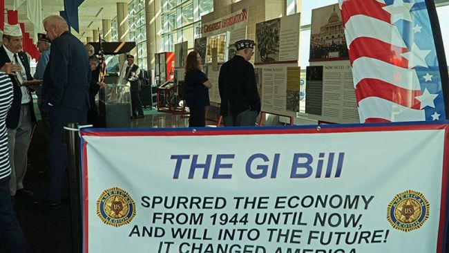 New Jersey Legionnaires salute the GI Bill