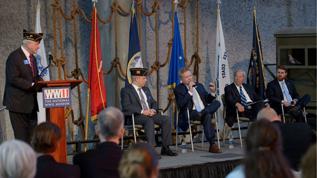 The GI Bill Then and Now: Panel discussion kicks off centennial exhibit